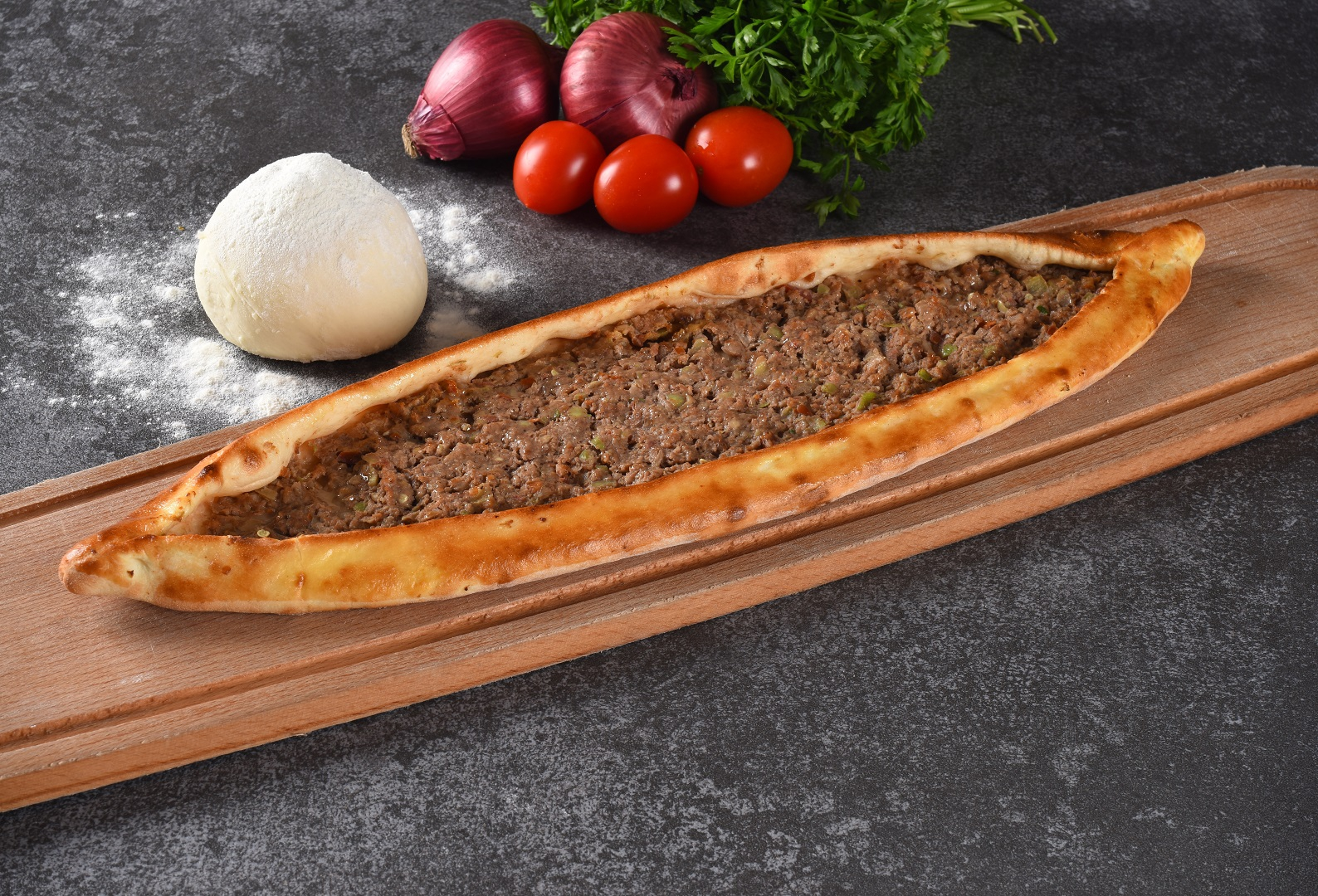 Pita With Minced Meat